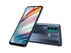 "Smartphone Motorola Moto G60 4G 128GB 6.8"" TriplaCâm 108+8+2MP Azul - 1"