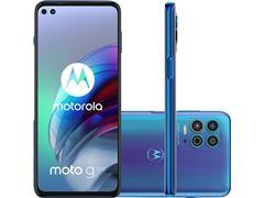 "Smartphone Motorola Moto G100 5G 256GB 6.7""Câm 64+16+2MP+ToF HDMI Azul - 0"