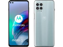 "Smartphone Motorola Moto G100 5G 256GB 6.7""Câm 64+16+2MP+TF HDMI Prata - 1"