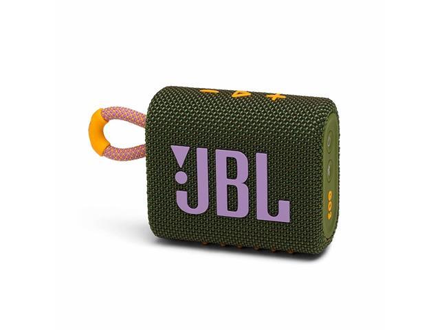 Caixa de Som Bluetooth JBL GO 3 Green JBLGO3GRN