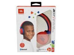 Fone de Ouvido Infantil Bluetooth JBL Vermelho e Azul JBLJR310BTRED - 5