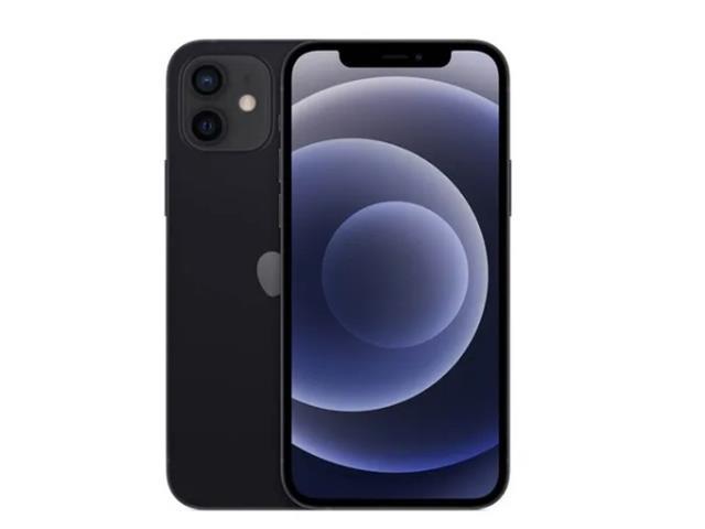 iPhone12 de 64GB en negro