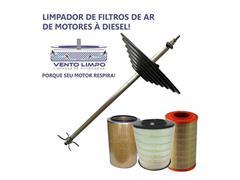 "Vento Limpo limpador de Filtro de Ar Motores à Diesel Rotores 4"" à 12"""