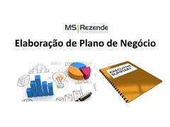 Elaboração de Plano de Negócio - MS REZENDE