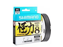 Linha Shimano Multifilamento Kairiki PE 50LB (0.315mm) x 300m Cinza