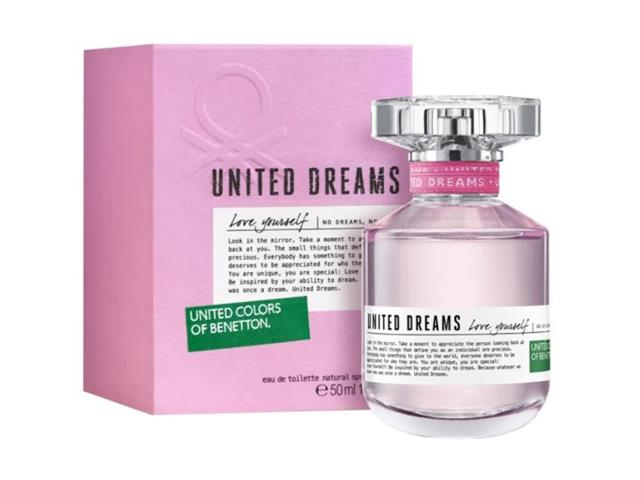 Perfume Benetton United Dreams Love Yourself Feminino EDT 50ML