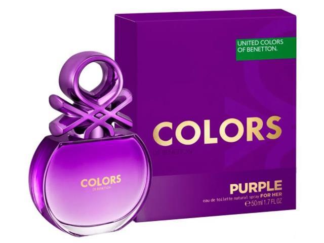 Perfume Benetton Colors Her Purple Feminino Eau de Toilette 50ML