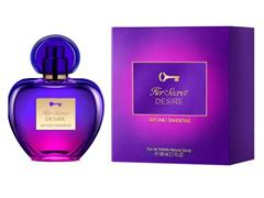 Perfume Antonio Banderas Her Secret Desire Feminino EaudeToilette 80ML