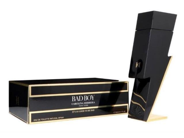 Perfume Bad Boy Carolina Herrera Masculino Eau de Toilette 150ML
