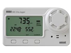 Medidor de dióxido de carbono (CO2), de temperatura y humedad para int - 0