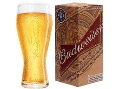 Copo para Cerveja Budweiser 400ML