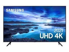 "Smart TV LED 50"" Samsung Tizen Crystal UHD 4K HDR10+ 3 HDMI 1USB Wi-Fi"