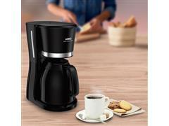 Cafeteira Filtro Arno com Jarra Térmica Cool Touch 1 Litro Preta 110V - 2
