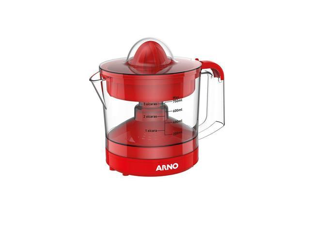 Espremedor de Frutas Arno Suco Express Vermelho 750ML 220V