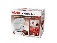 Batedeira Híbrida Arno Chef 5 Litros 400W Branca 110V - 6