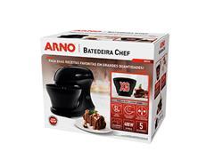 Batedeira Híbrida Arno Chef 5 Litros 400W Preta 220V - 5