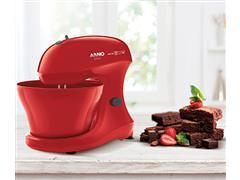 Batedeira Híbrida Arno Chef 5 Litros 400W Vermelha 110V - 5