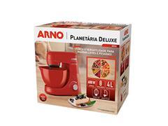 Batedeira Planetária Arno Nova Deluxe 600W Vermelha 220V - 6