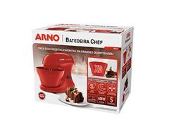Batedeira Híbrida Arno Chef 5 Litros 400W Vermelha - 6