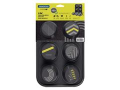 Forma Tramontina Muffins Power Up Cinza - 1