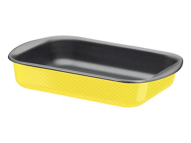 Assadeira Tramontina Funda 34cm Power Up Amarelo