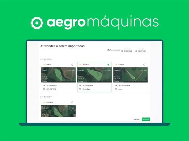 Aegro Máquinas - Integração com FieldView e John Deere