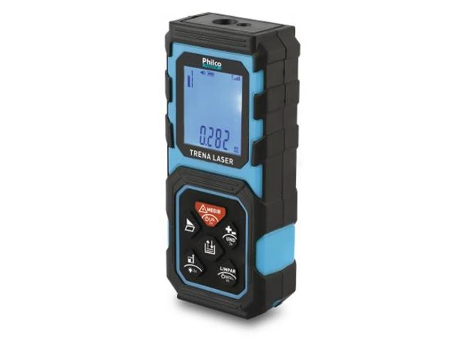 Trena a Laser Philco PTL01 40 Metros com 3 Unidades de Medida a Pilha