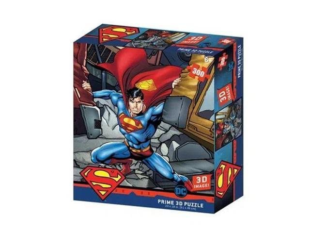 Quebra-Cabeça 3D Multikids Superman 300 Peças