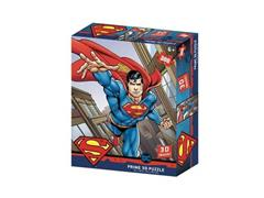 Quebra-Cabeça 3D Multikids Superman Flying 300 Peças