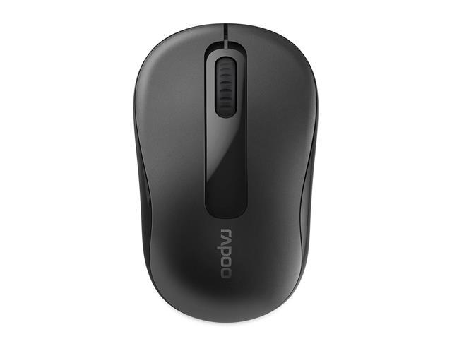 Mouse sem Fio Rapoo M10 RA007 2.4 Ghz com Pilha Black