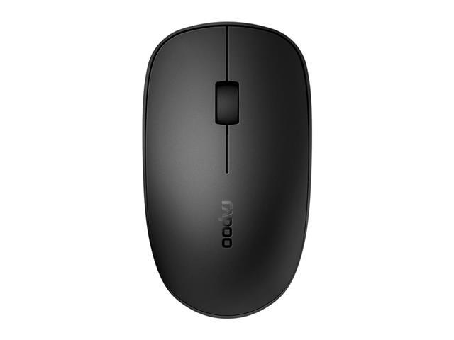 Mouse Rapoo RA011 Bluetooth + 2.4 Ghz com Pilha Black M200