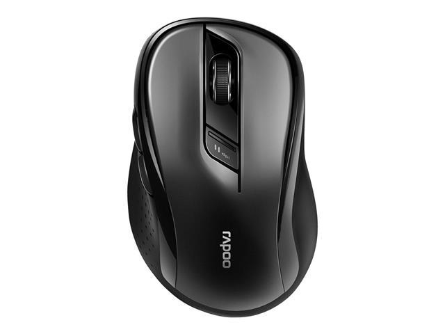 Mouse Rapoo RA013 Bluetooth + 2.4 Ghz com Pilha Black M500