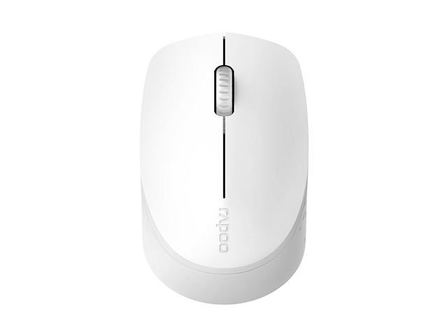 Mouse Rapoo RA010 Bluetooth + 2.4 Ghz com Pilha White M100