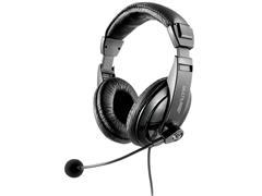 Fone de Ouvido Headset Multilaser PH245 USB Giant Preto - 0