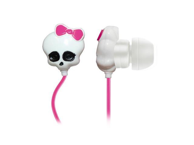 Fone de Ouvido Multilaser PH106 Monster High Skull P2 Rosa