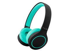Fone de Ouvido Bluetooth Pulse PH340 Head Beats 5.0 Preto e Verde