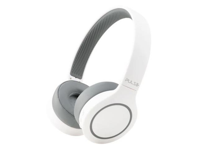 Fone de Ouvido Bluetooth Pulse PH341 Head Beats 5.0 Branco e Cinza