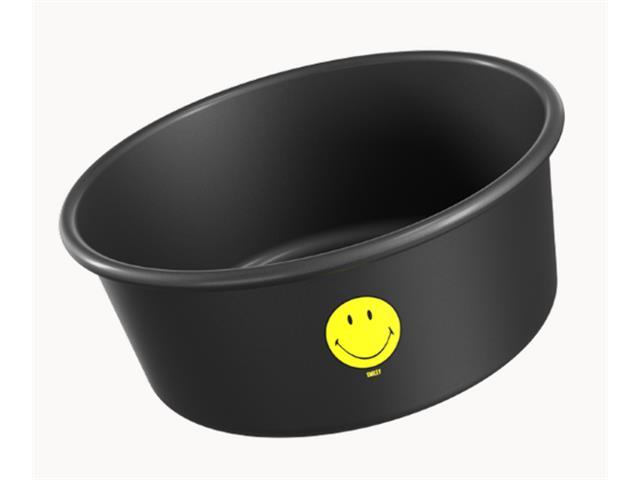 Forma para Bolo Brinox Smiley Preta 20CM
