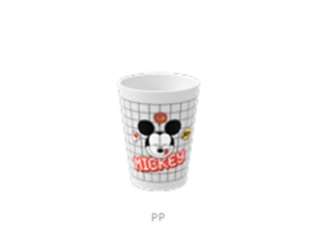 Copo Cônico Casual Coza Disney Branco 300ML