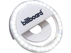 Luminária LED Selfie Ring Light Billboard Recarregável com Clipe