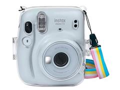 Kit Câmera Instax Mini 11 com Pack 10 Fotos e Bolsa Crystal Branca - 1