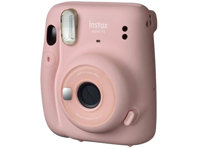 Câmera instantânea Fujifilm Instax Mini 11 Rosa