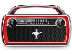 Rádio Bluetooth AM/FM Portátil ION Ford Mustang Bateria Recarregável - 1