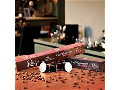 Kit Café Ruiz Gourmet Intenso com 9 caixas de 10 cápsulas 55g - 2