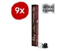 Kit Café Ruiz Gourmet Intenso com 9 caixas de 10 cápsulas 55g - 0