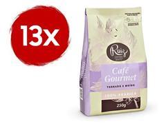 Kit Café Ruiz Gourmet Torrado e Moído com 13 pacotes de 250g
