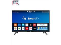 "Smart TV LED 43"" Philips Full HD Conv. Tv Digital Slim WiFi 2HDMI 2USB"