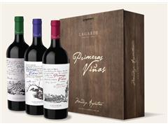 Estuche de Madera Primeras Viñas Mixto x3 LAGARDE