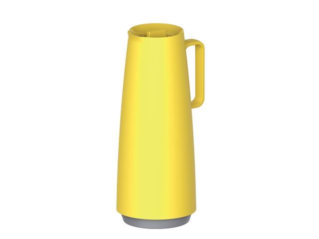 Bule Térmico Tramontina Exata Amarelo com Ampola de Vidro 1 Litros
