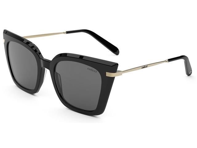 Óculos de Sol Colcci Dani Preto Brilho Lente Cinza